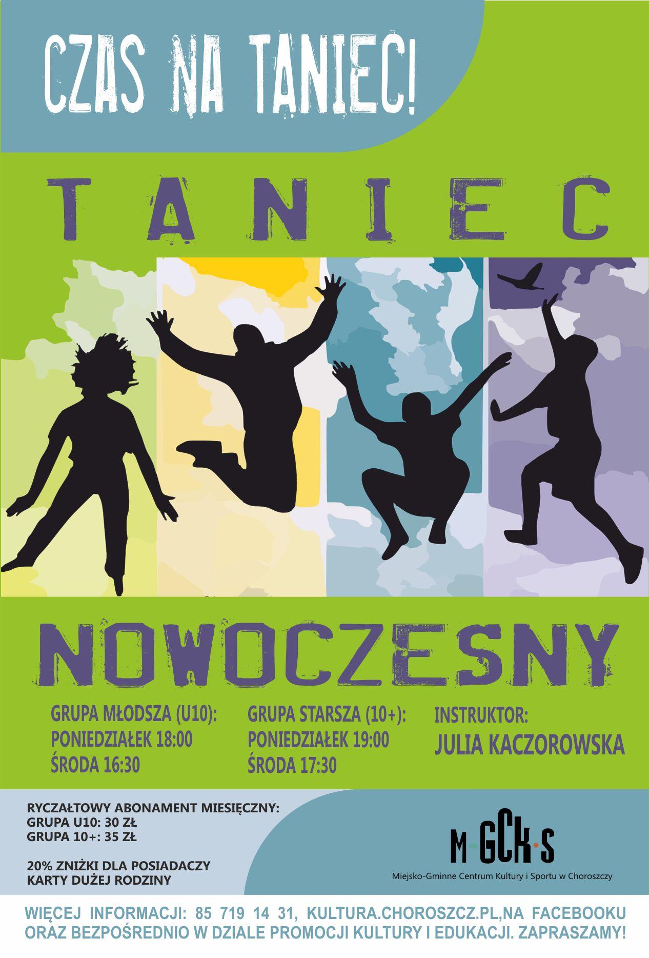 Taniec nowoczesny 2017
