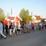 Dzień Flagi Rzeczypospolitej - Choroszcz, 2 maja 2012. Fot. W. Cymbalisty