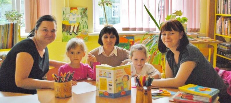 zajęcia biblioteczne dla najmłodszych 2015