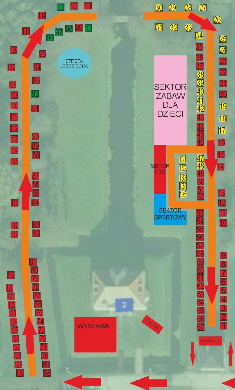 jarmark 2015 mapa