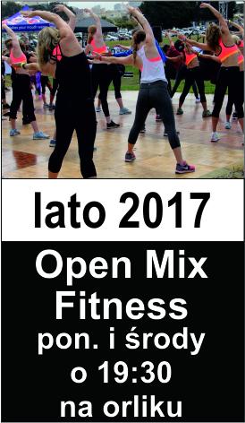 Open Mix Fitness banerek