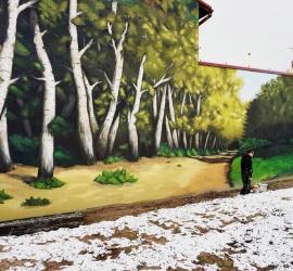 mural foto