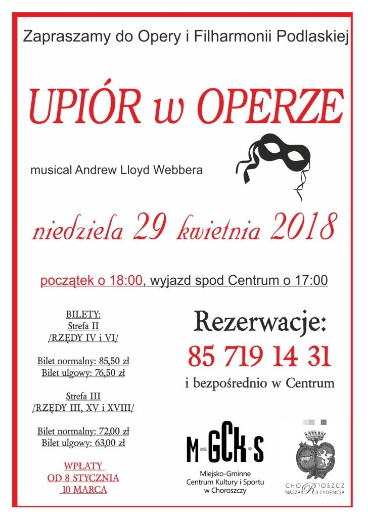 plakat opera