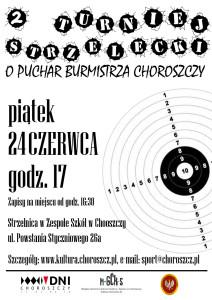 plakat turniej strzelecki 2016