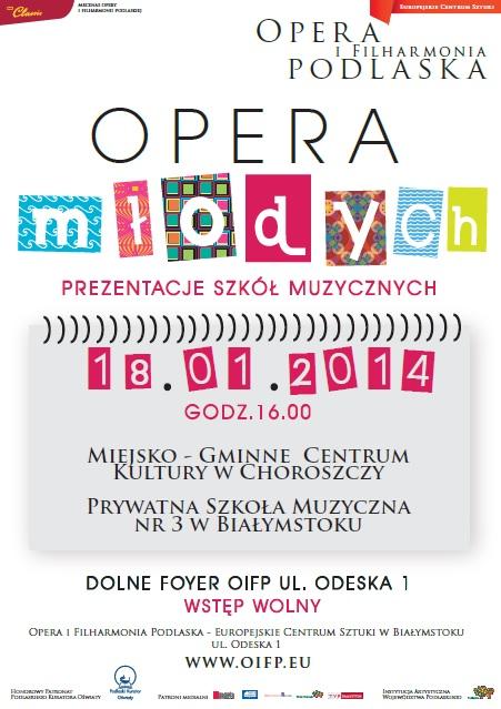opera młodych 18.01.2014