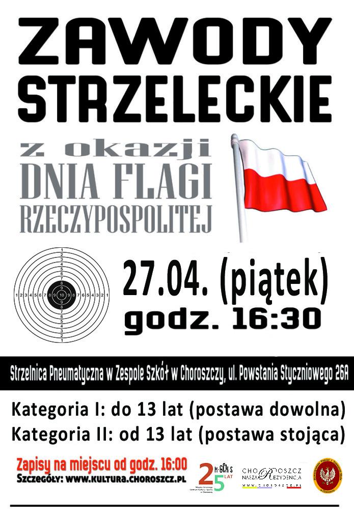 dzień-flagi-strzelanie-plakat