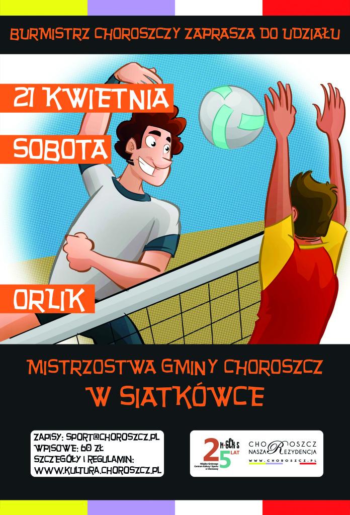 plakat siatkowka 2018